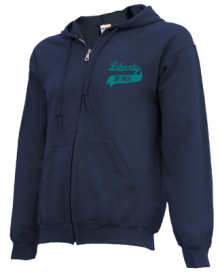 Liberty Middle School  Zip-up Hoodies