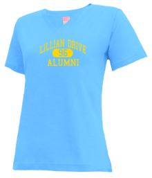 Lillian Drive Elementary School  V-neck Shirts