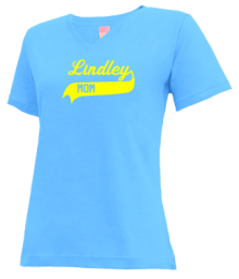 Lindley Elementary School  V-neck Shirts