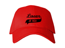 Linear Middle School  Baseball Caps