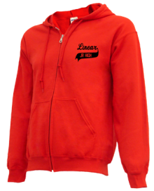 Linear Middle School  Zip-up Hoodies
