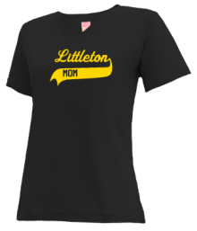 Littleton Elementary School  V-neck Shirts