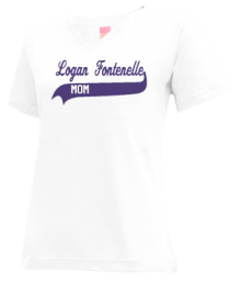 Logan Fontenelle Middle School  V-neck Shirts