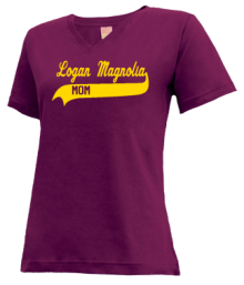 Logan-Magnolia Elementary School  V-neck Shirts