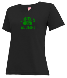 London Elementary School  V-neck Shirts