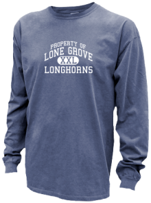 Lone Grove Middle School  Pigment Dyed Shirts