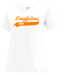 Longfellow Elementary School  V-neck Shirts