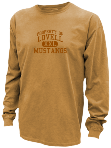 Lovell Middle School  Pigment Dyed Shirts