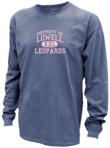 Lowell Elementary School  Pigment Dyed Shirts