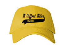 M Clifford Miller Middle School  Baseball Caps