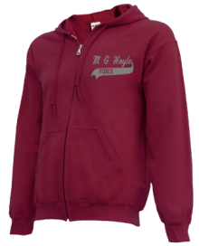 M G Hoyle Elementary School  Zip-up Hoodies