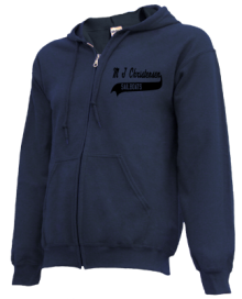 M J Christensen Elementary School  Zip-up Hoodies