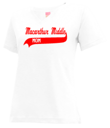 Macarthur Middle School  V-neck Shirts