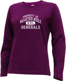 Macarthur Middle School  Long Sleeve Shirts