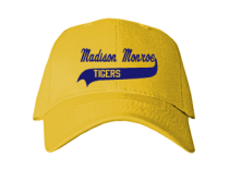Madison Monroe Elementary School 16  Baseball Caps