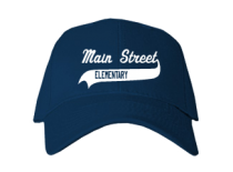 Main Street Elementary School  Baseball Caps