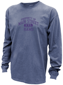 Main Street Primary School  Pigment Dyed Shirts