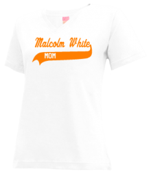 Malcolm White Elementary School  V-neck Shirts