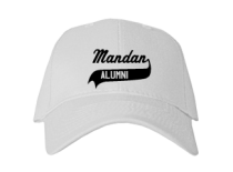 Mandan Junior High School Baseball Caps