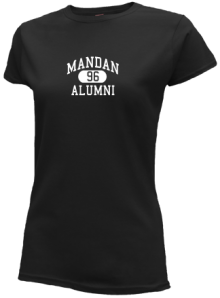 Mandan Junior High School Slimfit T-Shirts