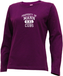 Mann Elementary School  Long Sleeve Shirts