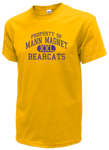 Mann Magnet Middle School  T-Shirts