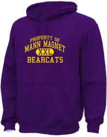 Mann Magnet Middle School  Hoodies