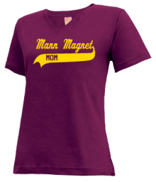 Mann Magnet Middle School  V-neck Shirts