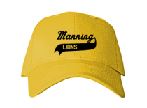 Manning Junior High School Baseball Caps
