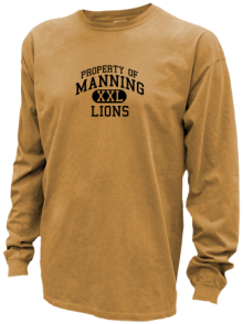 Manning Junior High School Pigment Dyed Shirts