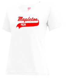 Mapleton Elementary School  V-neck Shirts