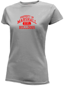 Marshall Middle School  Slimfit T-Shirts
