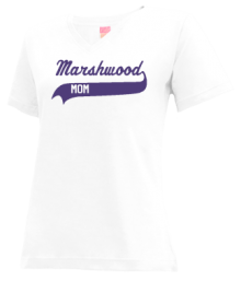 Marshwood Junior High School V-neck Shirts