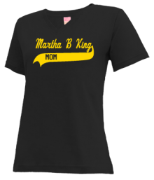 Martha B King Middle School  V-neck Shirts