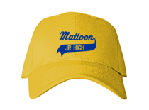Mattoon Junior High School Baseball Caps