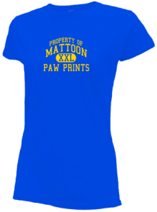 Mattoon Junior High School Slimfit T-Shirts