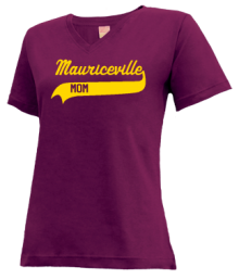 Mauriceville Middle School  V-neck Shirts