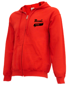 Mccoll Elementary School  Zip-up Hoodies