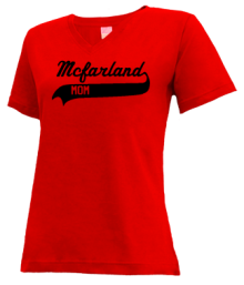 Mcfarland Middle School  V-neck Shirts