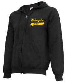Mcloughlin Middle School  Zip-up Hoodies