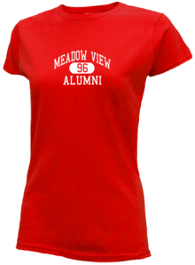 Meadow View Elementary School  Slimfit T-Shirts