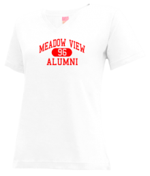 Meadow View Elementary School  V-neck Shirts