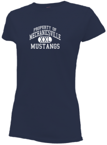Mechanicsville Elementary School  Slimfit T-Shirts