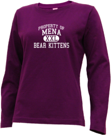 Mena Middle School  Long Sleeve Shirts