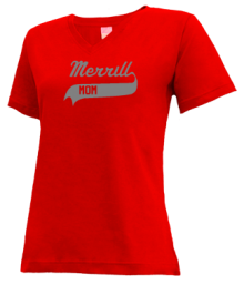 Merrill Middle School  V-neck Shirts
