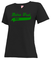 Metro West Elementary School  V-neck Shirts