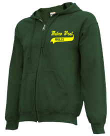 Metro West Elementary School  Zip-up Hoodies