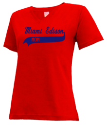 Miami Edison Middle School  V-neck Shirts