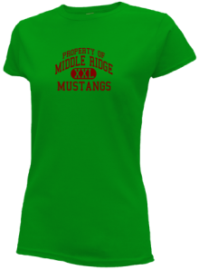 Middle Ridge Elementary School  Slimfit T-Shirts