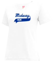Midway Elementary School  V-neck Shirts